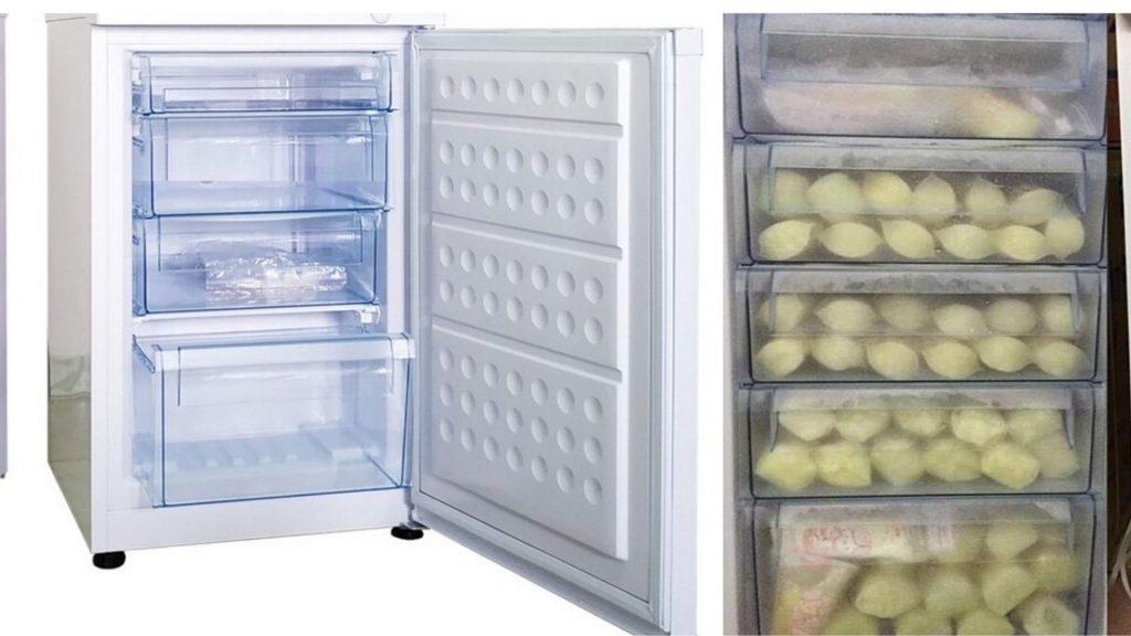 Tủ đông đứng trữ sữa mẹ