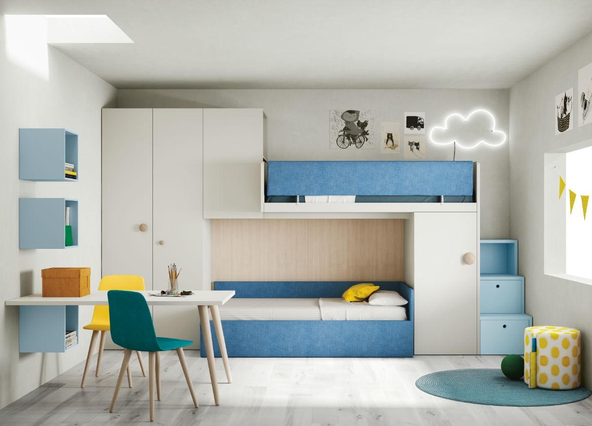 Giường tầng hiện đại cho bé