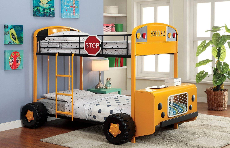 Giường tầng xe buýt cho bé