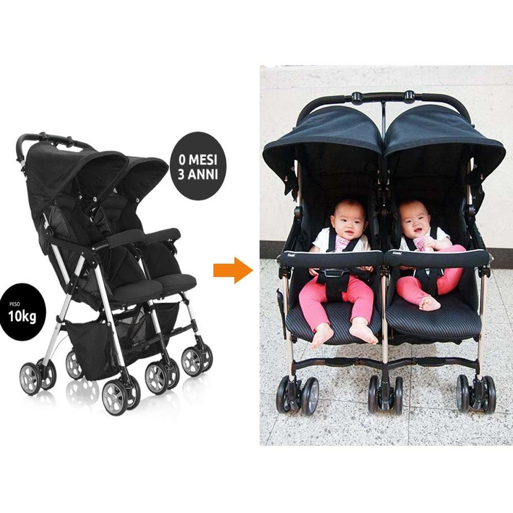 Xe đẩy đôi cho trẻ em giá rẻ