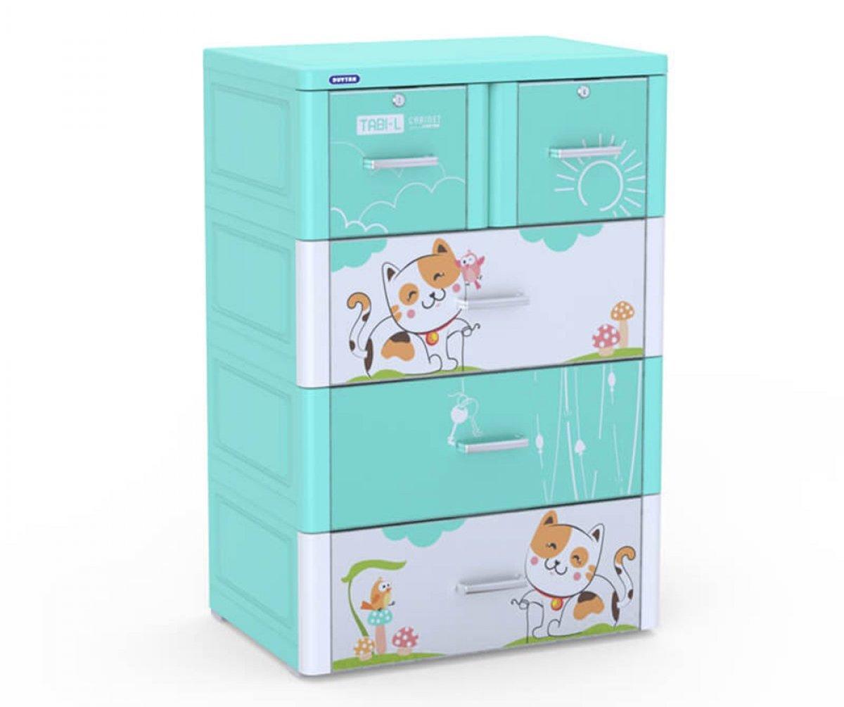 Tủ nhựa Tabi-L cho bé gái dưới 1 tuổi - Giá: 1.730.000 đồng