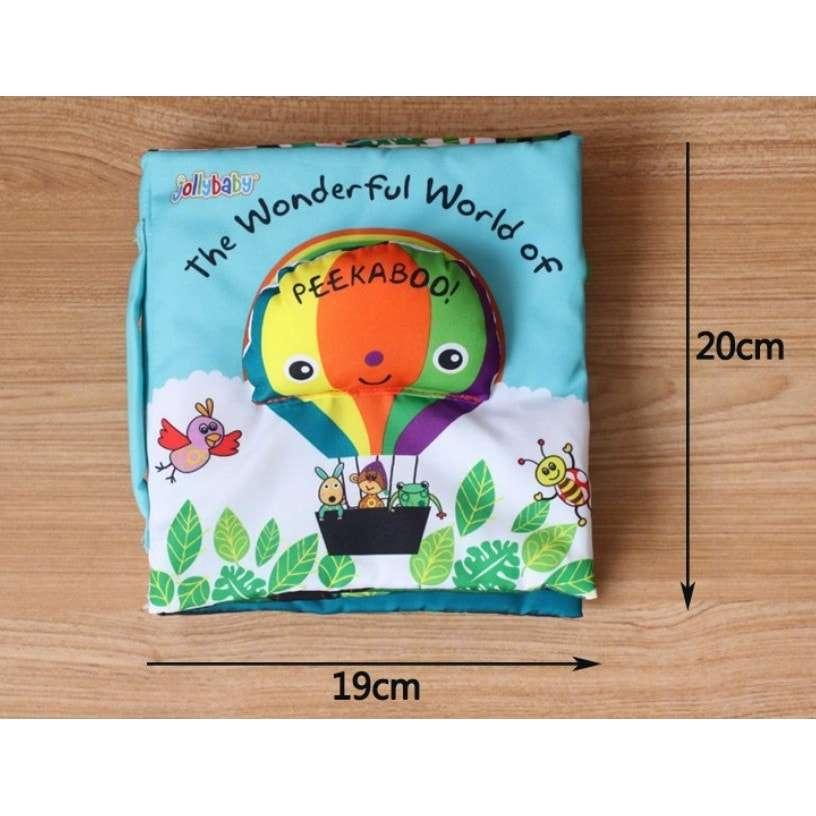 Sách vải cho trẻ 1 tuổi Peekaboo