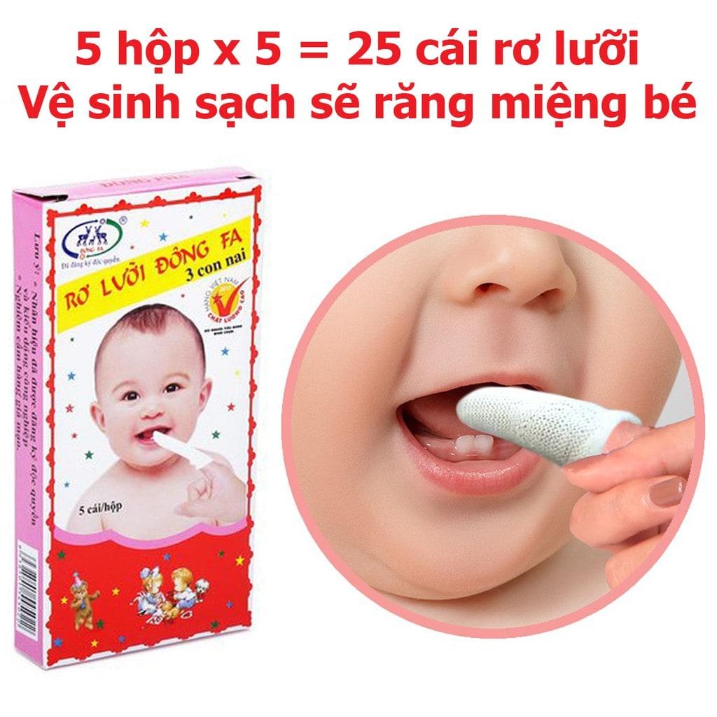 Rơ lưỡi cho bé