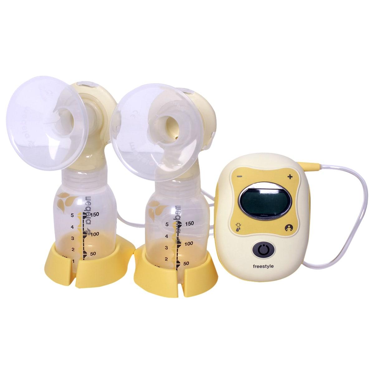 Máy hút sữa điện đôi Freestyle có pin sạc