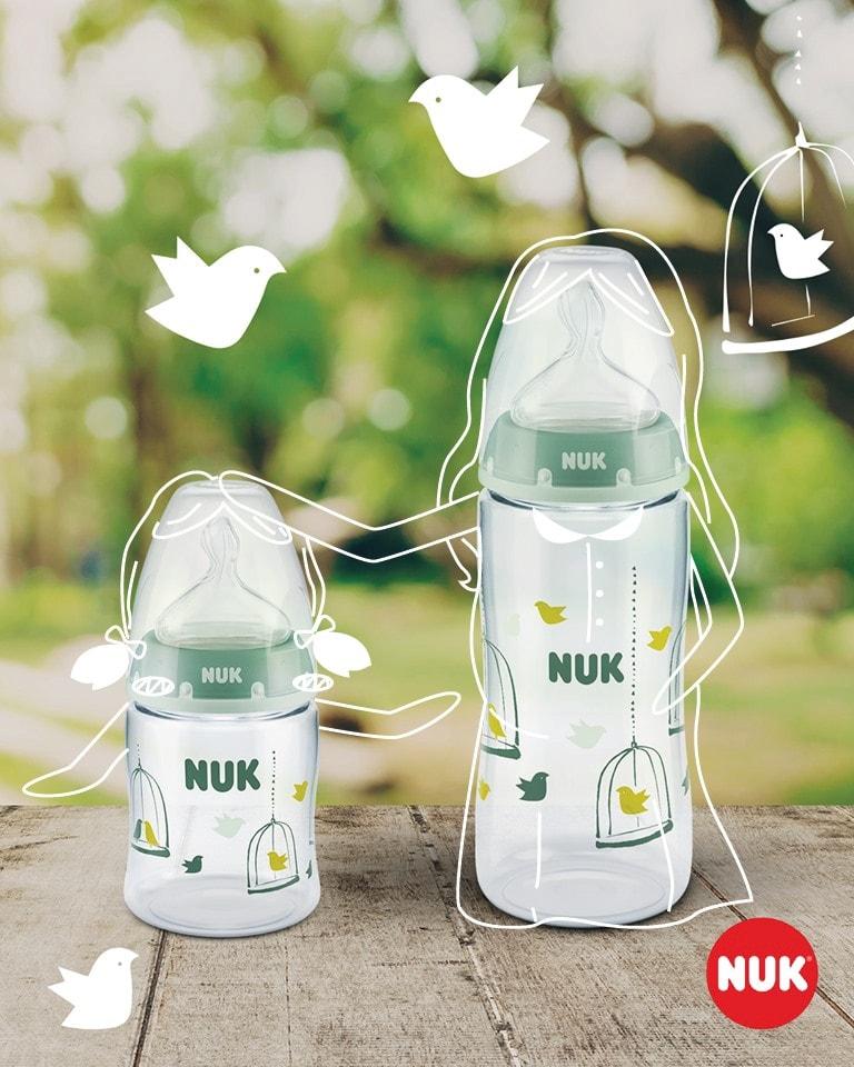 Bảo quản bình sữa Nuk