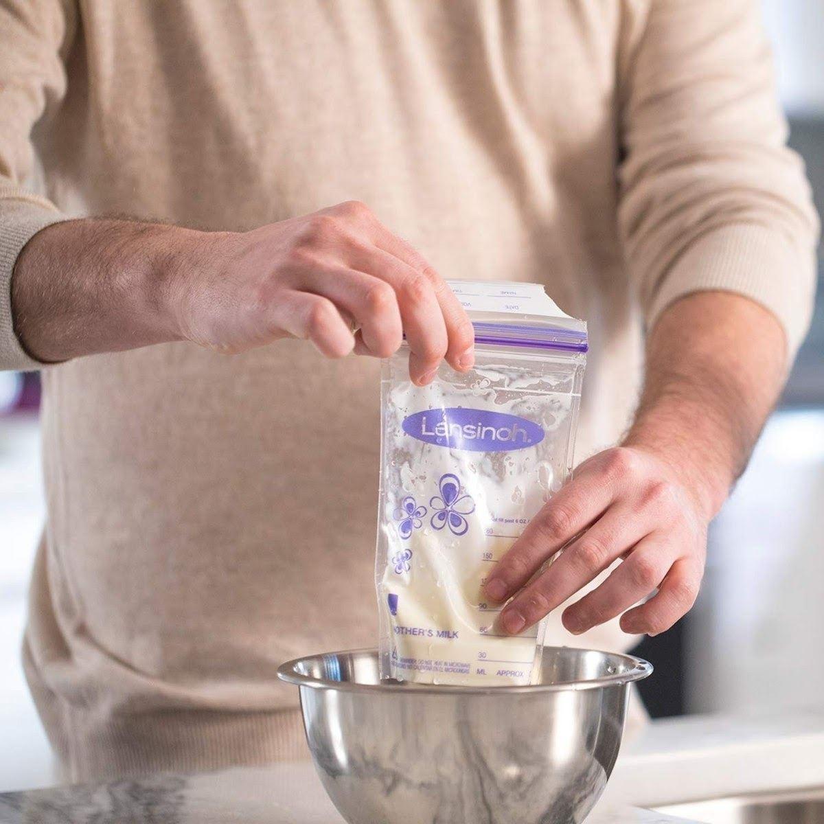 Túi trữ trữ sữa Lansinoh