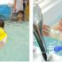 Tìm hiểu bơi thuỷ liệu cho bé