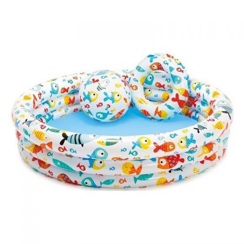 Bể bơi INTEX (kèm phao và bóng)